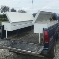 2 Knack bed truck toolboxes for sale
